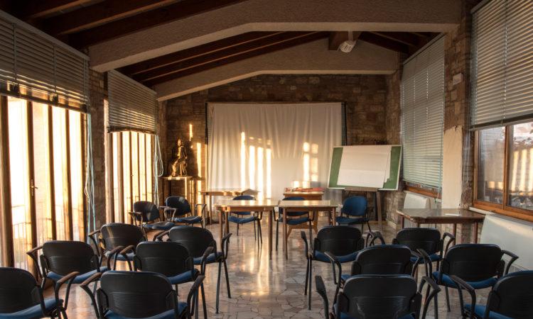 Sala Cristalli | interno | Cittadella di Assisi