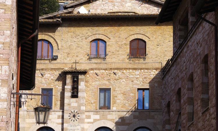 Cappella | esterno | Cittadella di Assisi