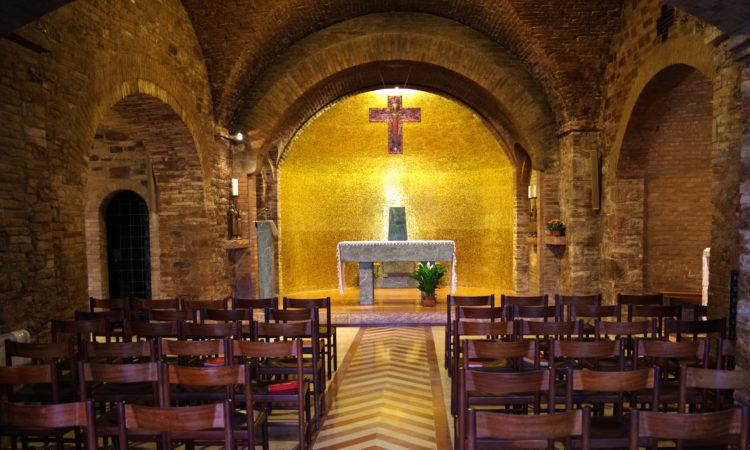 Cappella | interno 2 | Cittadella di Assisi